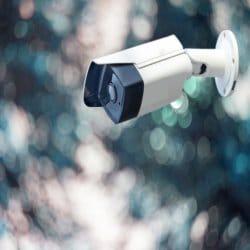 كاميرات المراقبة الخارجية