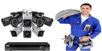 تكلفة تركيب كاميرات