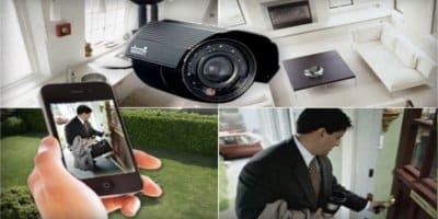 كاميرات مراقبة لجميع الاماكن