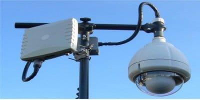 كاميرا مراقبة لاسلكية متحركة