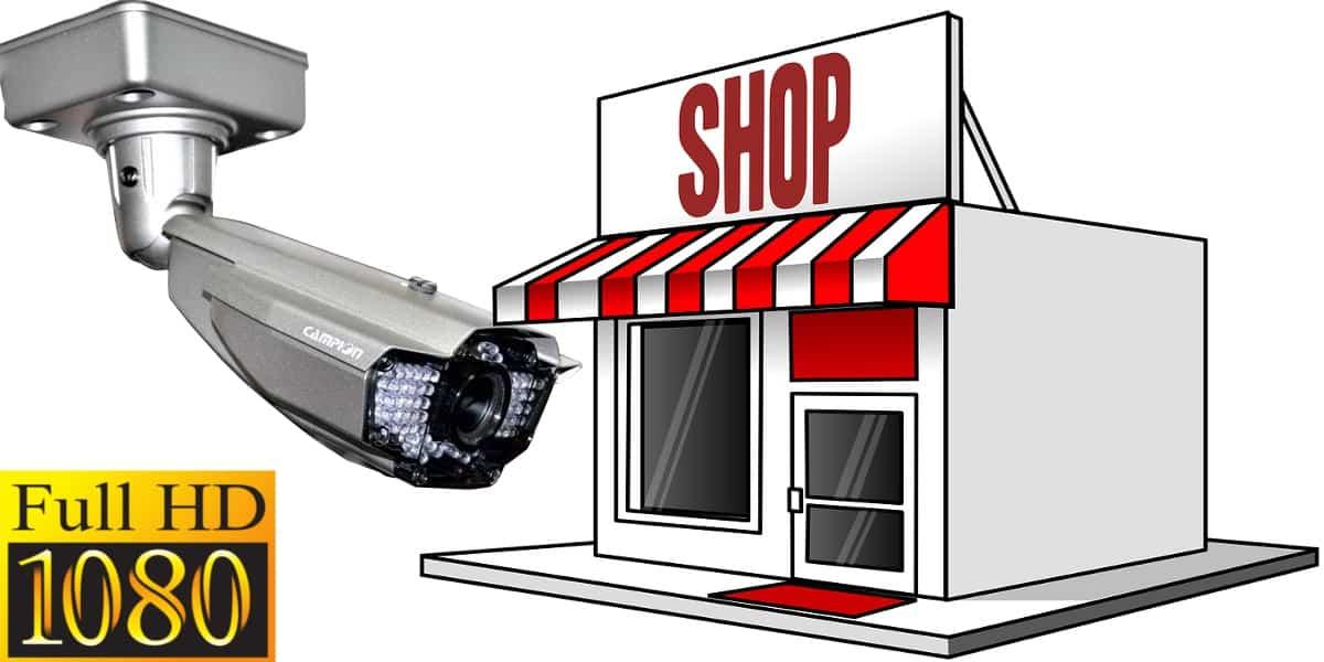 كاميرات مراقبة محلات تجارية