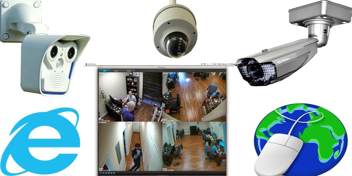 كاميرات المراقبة Ip الشبكية أمن المباني