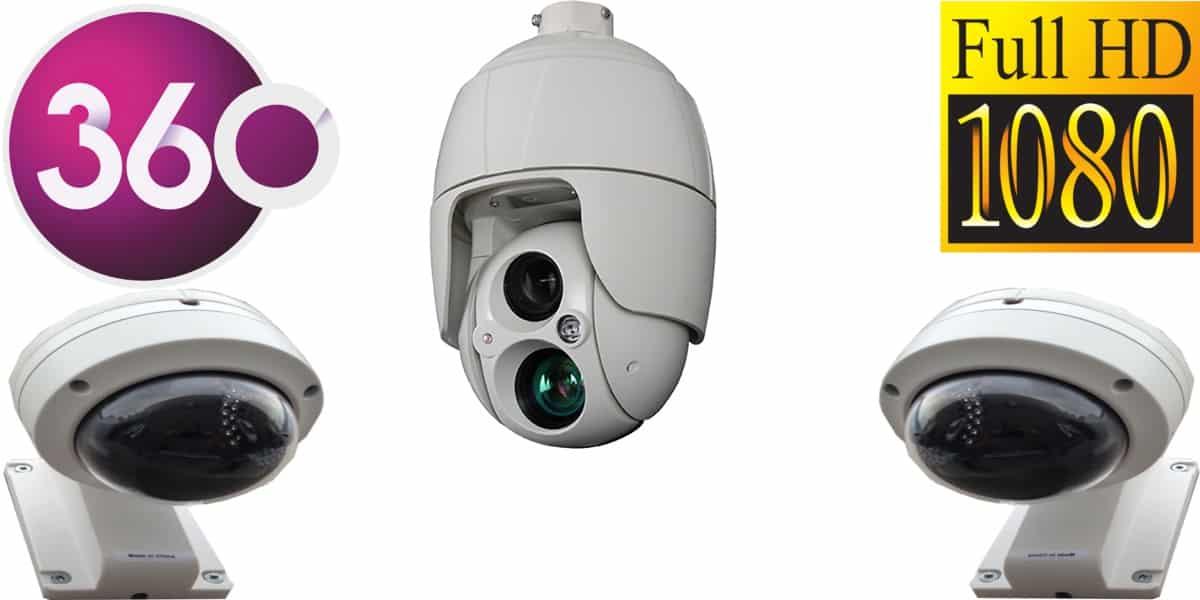 كاميرات مراقبة ptz متحركة