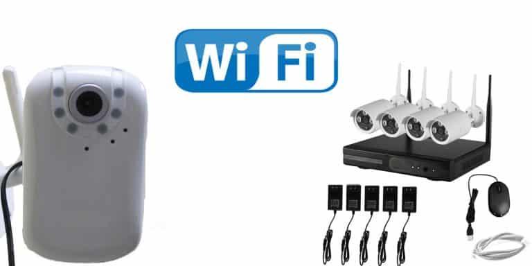 كاميرات مراقبة وايرلس بتقنية WiFi