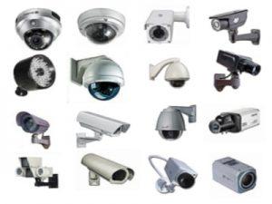 اشكال وانواع كاميرات المراقبة