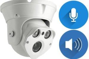 كاميرات مراقبة بالصوت