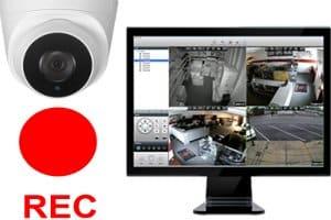 كاميرات مراقبة بالفيديو