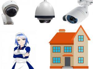 مراقبة الخدم والمنزل