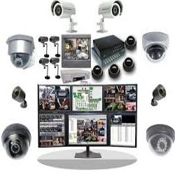 مكونات نظام كاميرات المراقبة