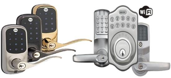 جهاز قفل الباب
