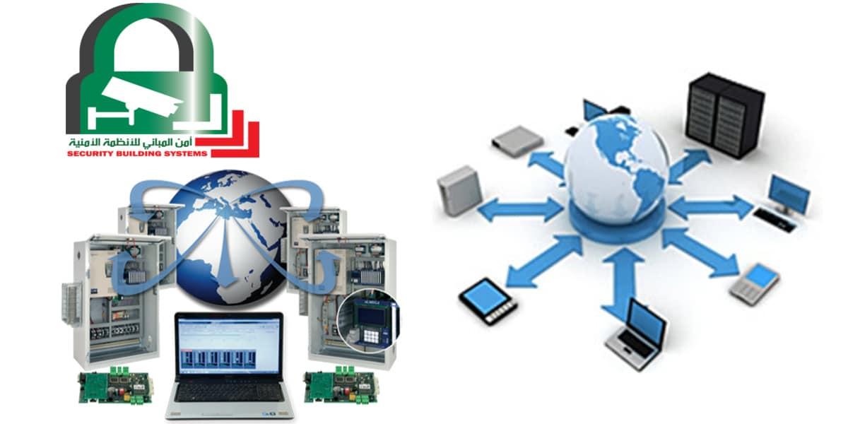 شبكات الحاسوب تعريفها أنواعها مكوناتها ومميزاتها أمن المباني