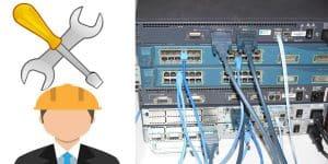 صيانة شبكات الانترنت حلول شبكية متكاملة
