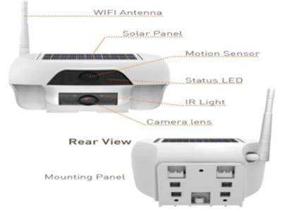 مواصفات كاميرا بدون كهرباء