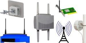 الشبكة اللاسلكية أحدث تقنيات الاتصالات