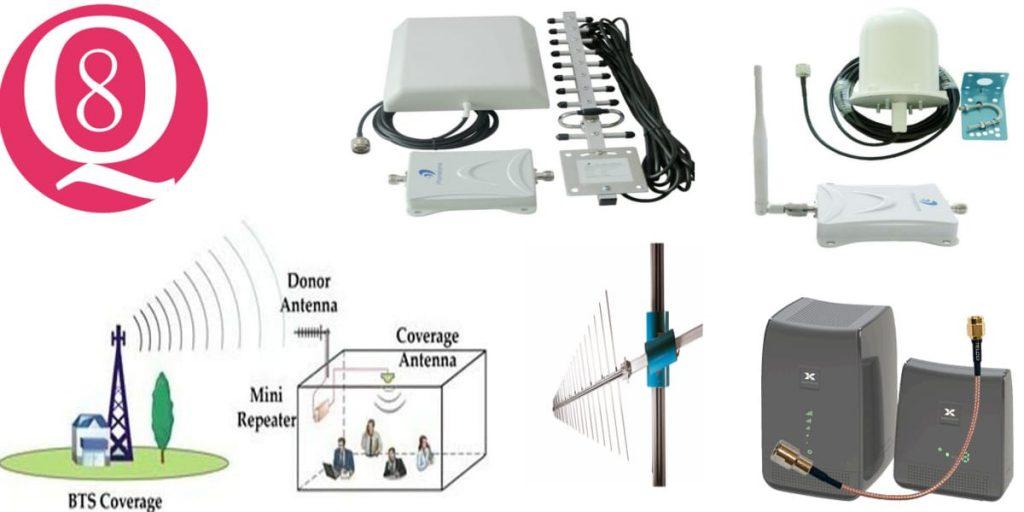 مقوي شبكة الجوال يصلح لجميع الشبكات أمن المباني