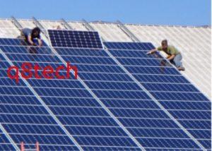 تركيب ألواح الطاقة الشمسية