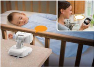 مراقبة الأطفال أثناء النوم