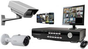 التسجيل من كاميرات المراقبة