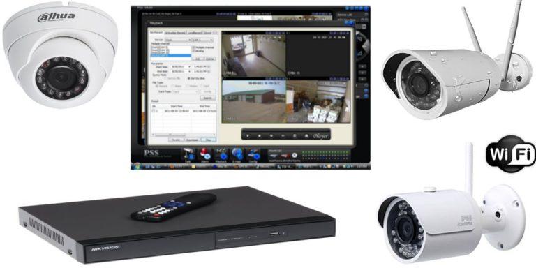 برنامج تشغيل كاميرات المراقبة