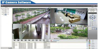 برنامج مراقبة الكاميرات