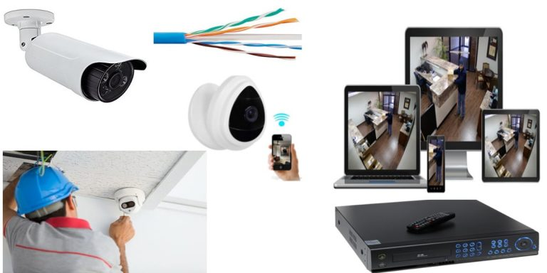 تركيب كاميرات المراقبة بالصور