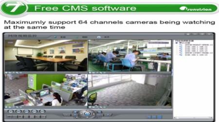 تقسيم الشاشة لعرض جميع الكاميرات فى وقت واحد