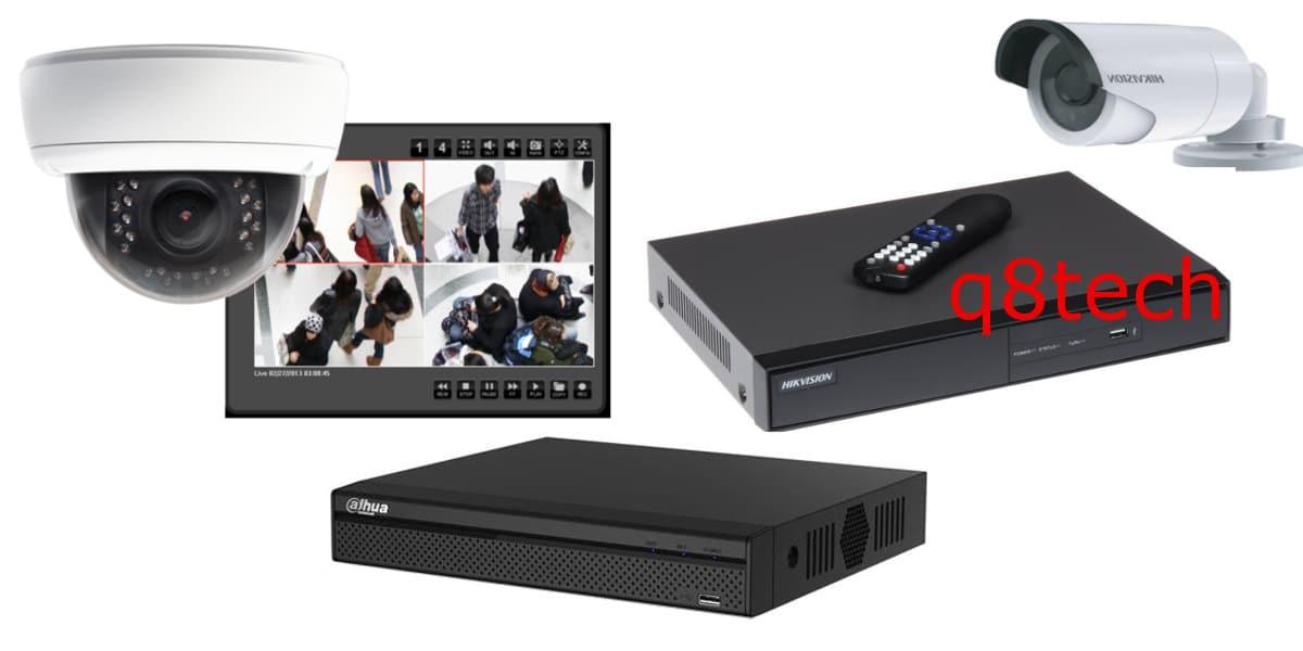 اجهزة التسجيل DVR و NVR