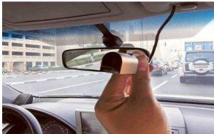 كاميرا مراقبة داخل السيارة وخارجها