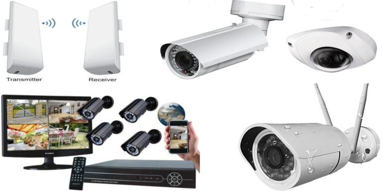 كيف تعمل كاميرات المراقبة اللاسلكية