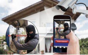 اهمية كاميرات المراقبة المنزلية