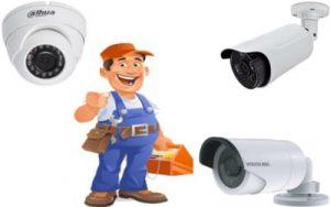مهندس كاميرات مراقبة متخصص