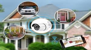 كاميرات المراقبة لتأمين المنزل