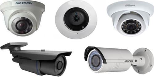 تحديد انواع الكاميرات المطلوبة للمكان