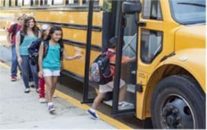 تركيب كاميرات مراقبة في الحافلات المدرسية