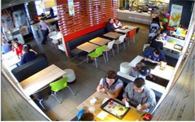 كاميرات مراقبة للمطاعم