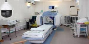 كاميرا مراقبة غرفة الأشعة بالمستشفى