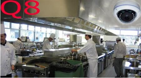 مراقبة المطبخ والطهاه