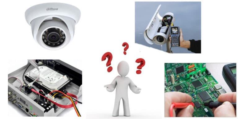 اسباب تعطل كاميرات المراقبة