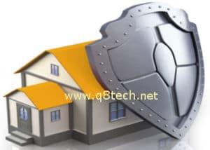 حماية المنزل ضد السرقة والتعدى والخطر