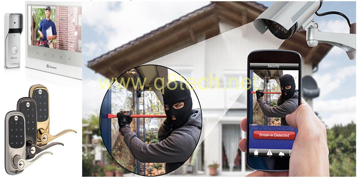 نظام حماية المنزل من السرقة