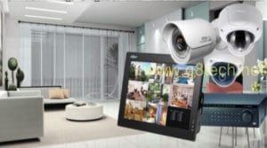 نظام حماية المنزل من السرقة متكامل ليل نهار