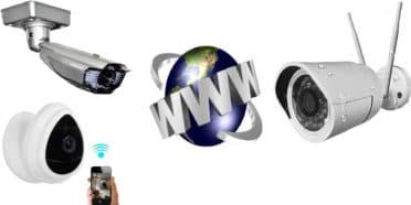 كاميرات مراقبة ip للبيع