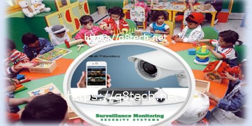 كاميرات مراقبة رياض الاطفال وأهميتها