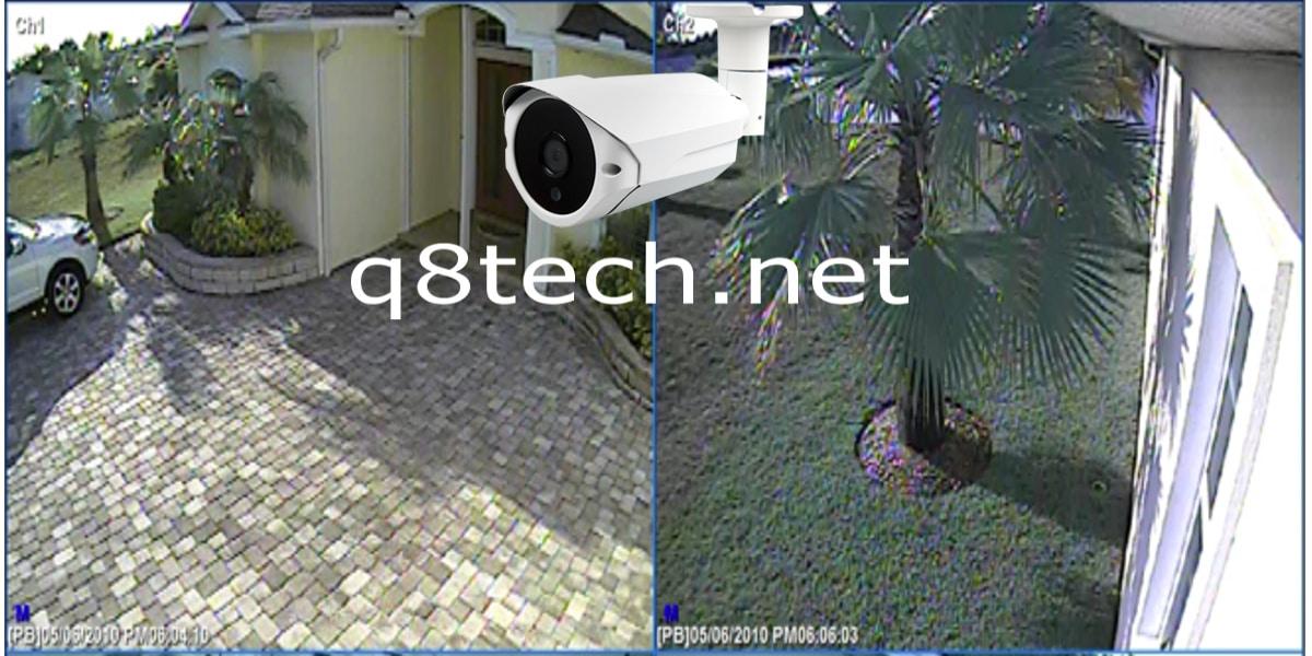كاميرات مراقبة منزلية خارجية