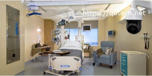اماكن وضع كاميرات المراقبة بالمراكز الطبية