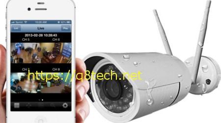 كاميرات مراقبة لاسلكية متحركة داخلية وخارجية