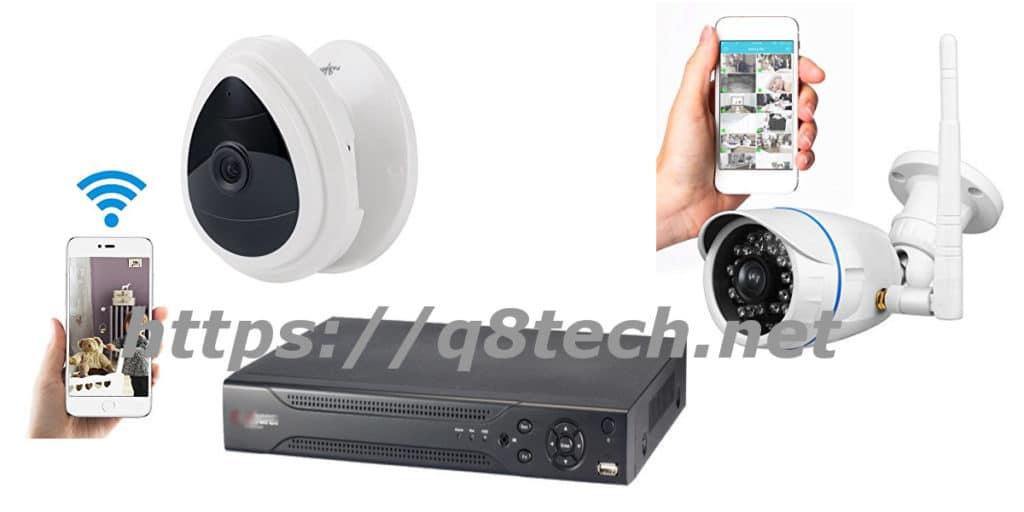 طريقة تثبيت كاميرات المراقبة على الجوال