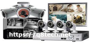 شاشة كاميرات مراقبة داخلية عالية الجودة