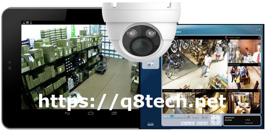 شاشة كاميرات مراقبة داخلية