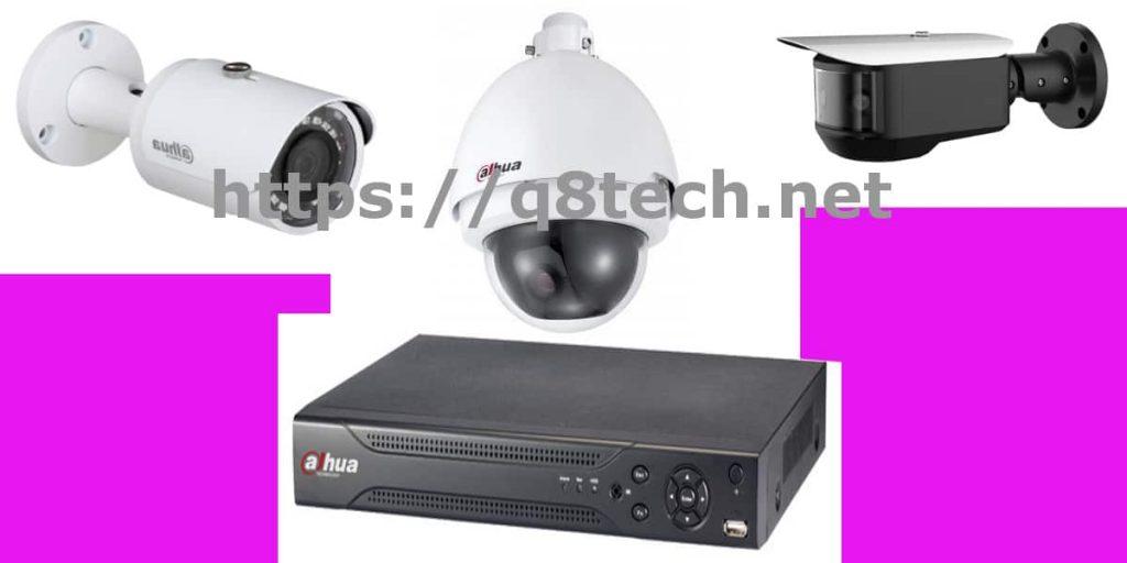 انواع كاميرات المراقبة dahua